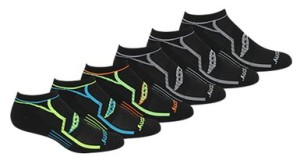 Saucony Men's Performance No-Show Socks