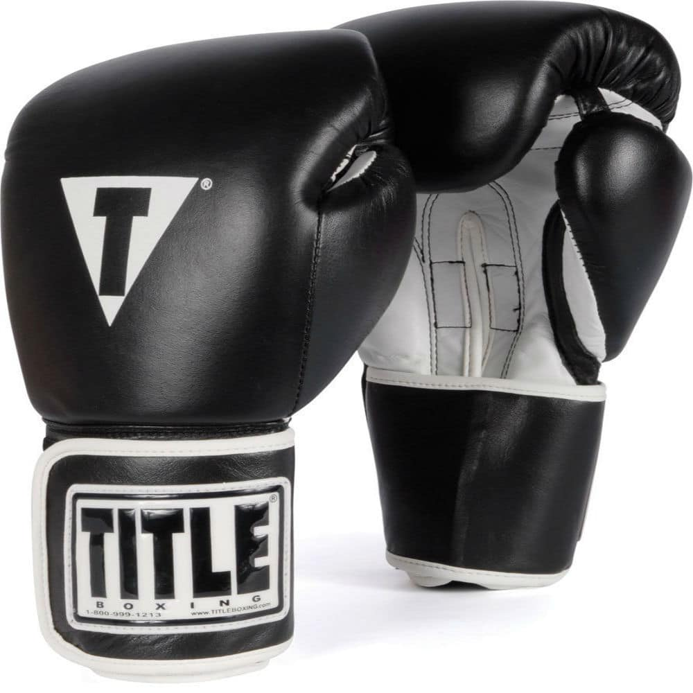 title boxing gloves slide