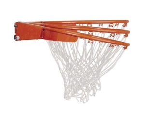 High Quality Hoops Have Breakaway Rims With Springs That Are Covered to Reduce Rust