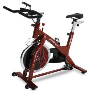 bladez fitness fusion spin bike slider